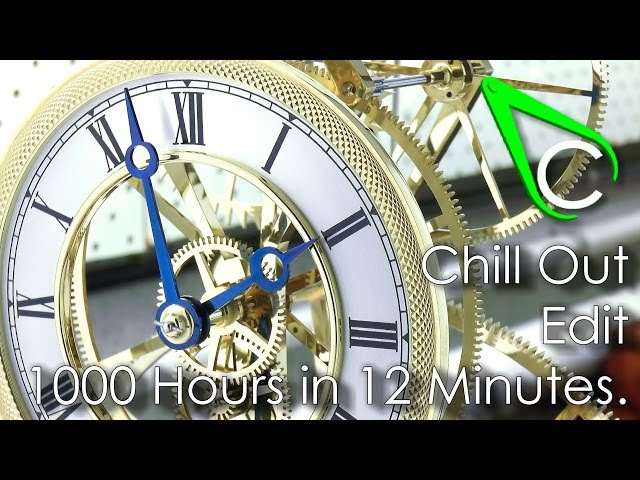 [BONUS VIDEO] Chill Out Edit - 1000 Hours in 12 Minutes