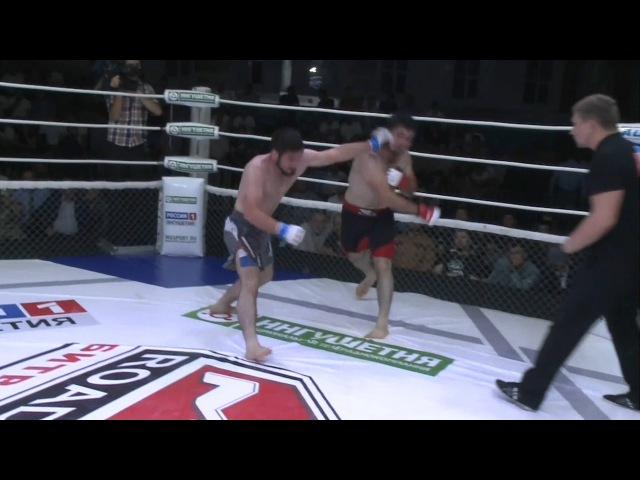 Magomaev vs Ozdoev | Магомаев vs Оздоев, Road to M-1:Battle in Nazran 4