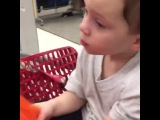 When ur sitting in a shopping cart and u hear a song that reminds u of ur ex #cute