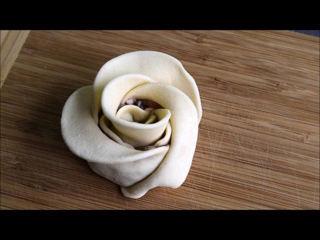 Манты розы Манты розочки მანტი უზბეკური ხინკალი