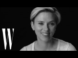 Scarlett Johansson on Black Widow, Spike Jonze, and Chris Evans Screen Tests W Magazine
