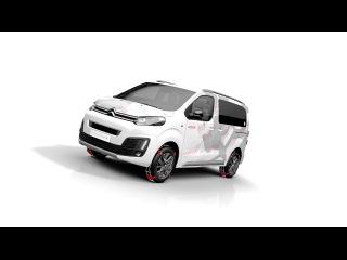 Citroen SpaceTourer 4X4 E Concept 03 2017