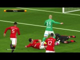 UEFA Europa League 2017  Saint Etienne vs Manchester United  PES Gameplay PC
