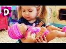 Кукла Беби Бон ПОДДЕЛКА! Описалась, Воняет и не Плачет Видео для Детей Куклы Пупсики Baby Born doll