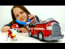Видео для детей Щенячий Патруль. Маршал мультик ЩенячийПатруль и Пожарная Машина