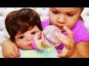 Новая Кукла Реборн МАША Играем в Куклы Пупсики Видео для Девочек Reborn Baby Doll Диана Как МАМА