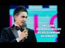 Million Davron Kabulov - Bu belgi nimani bildiradi?
