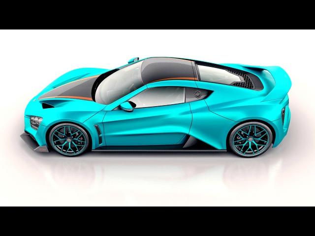 Zenvo ST1 GT 10th Anniversary 2017