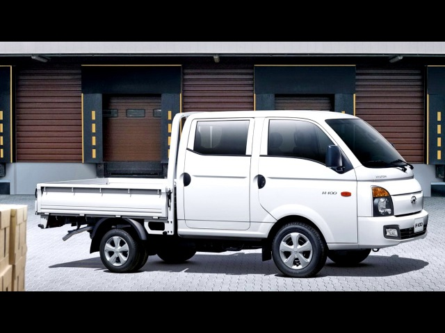 Hyundai H100 Pickup Double Cab Worldwide 2011