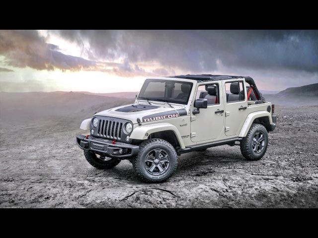 Jeep Wrangler Unlimited Rubicon Recon JK 2017