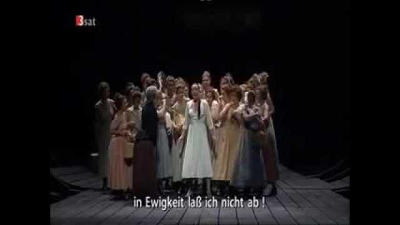 Nina Stemme sings Senta's ballad from Der Fliegende Hollander