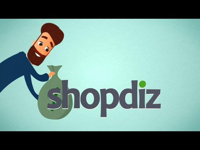 Анимационный ролик для сервиса shopdiz.biz