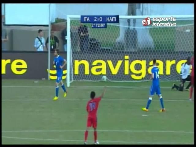Haiti conquista empate heroico contra a Itália