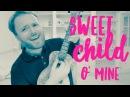 Sweet Child O Mine - Guns N Roses - EPIC UKULELE TUTORIAL