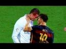 Lionel Messi vs Cristiano ronaldo - Fuertes Peleas y Momentos Furiosos