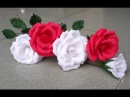 ABC TV How To Make Rose Paper Flower From Crepe Paper Craft Tutorial