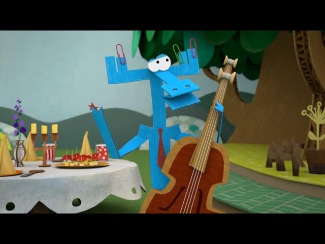 Бумажки - Самый фееричный сборник - Праздник с Ари и Тюк Тюком! 🎉🎁🎈- мультфильм...