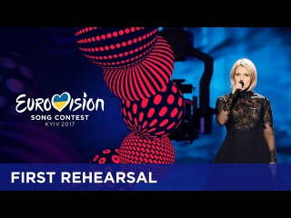 Norma John - Blackbird (Finland) First rehearsal in Kyiv