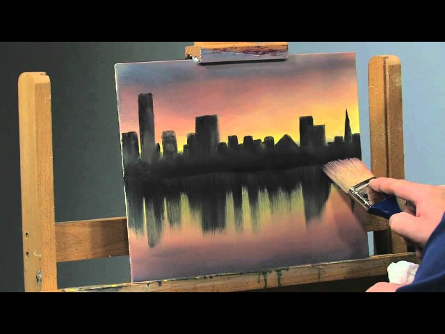 Paint-Along: How to Paint a Cityscape in Oils, Part 2