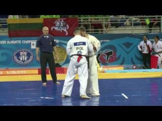 Adults Men +85kg 1 round Maciej Mazur (Poland) Vs Anotolii Zhuravel (Ukraine)