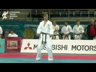 KATA Juniors Men 2st round Yaroslav Kovalchuk (Ukraine) Vs Alin Moga (Romania)