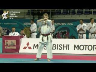 KATA Juniors Men 1st round  Yaroslav Kovalchuk (Ukraine) Vs Daniel Bilbak (Poland)