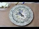 Декупаж ✿ Часы ✿ Мастер класс Татьяны Чимбирь