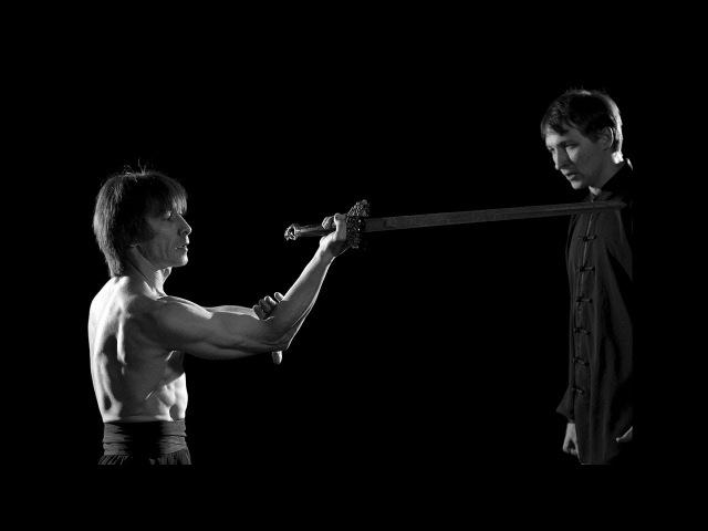 Форма прямого меча цзянь выполняемая Валерием Николаевичем (2013)