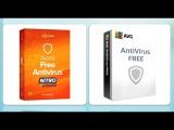 Тест Avast Free Antivirus 12.1 &amp AVG Antivirus Free 16.91 (полная версия).