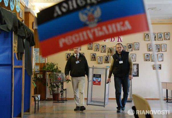 Главы ДНР и ЛНР отложили запланированные на 6 ноября местные выборы. Новая дата голосования не назначена: https://ria.ru/world/20161026/1480080944.html