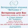 Ветеринарная клиника ВетСоюз-1 Приморский район