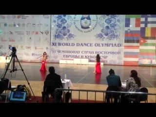 Эвелина Зуева-Evelina Zueva Ahlan wa Sahlan 2015 tabla 25