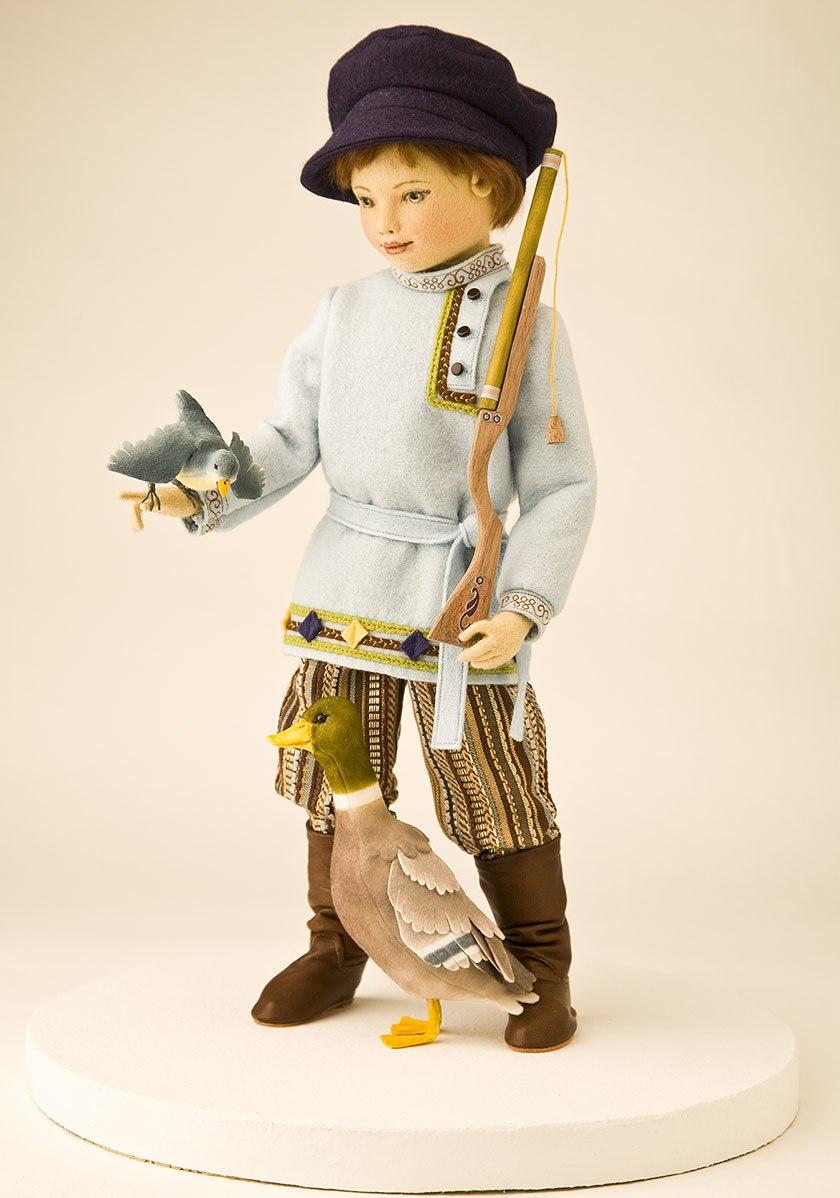 кукла охотник
