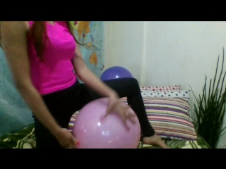 Kimlooner ly - 3 x 16 inch balloons sit to pop