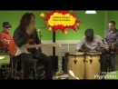 Euloge's solo on congas
