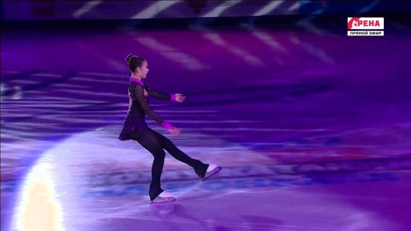 "Alina Zagitova ""Pink panther"" EX 2017 Russian Nationals"