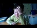 Мальчик учит стихБудьте осторожны не описайтесь