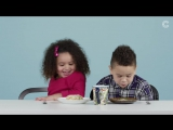 """American Kids Try """"More"""" Christmas Foods From Around the World ¦ Ep 11"""