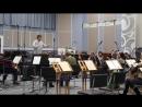 Прокопенко Дарья, репетиция с оркестром, январь 2017