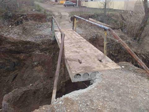 Житель Азнакаево пожаловался на аварийный мост — «Народный контроль»
