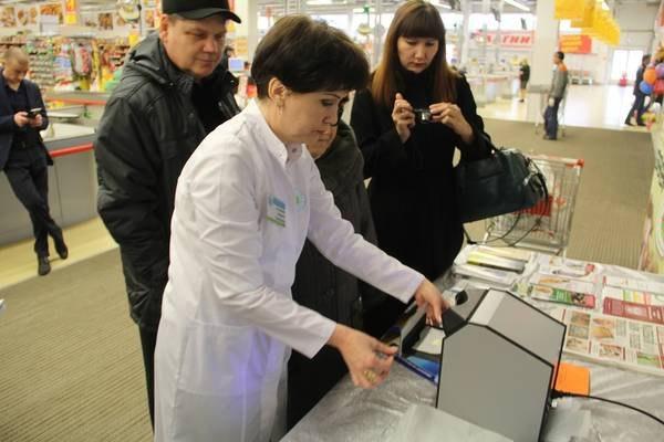 В гипермаркетах Альметьевска проходит акция по проверке качества сливочного масла