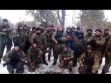 Вітання нашими воїнами з передової Нікопольське благочиння УПЦ Київського Патріархату з 20-літтям
