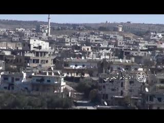 Операции Сирийской Арабской армии на южных и восточных окраинах района аль-Маншия в городе Дараа