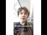 Instagram video by Tom Holland Updates