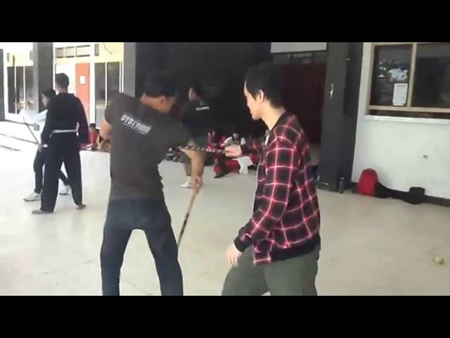 Systema Jogjakarta Indonesia - Preparation for Stick Fighting