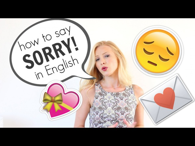 How to say SORRY and APOLOGISE in English | British English Spon