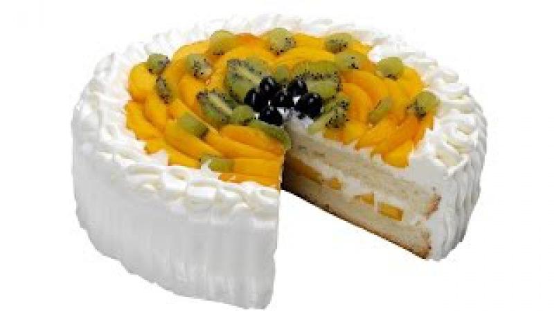 Торт с фруктами. Пошаговый рецепт приготовления нежного торта со взбитыми сливк » Freewka.com - Смотреть онлайн в хорощем качестве