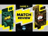 Match review: Na`Vi vs VP - Game 1 @ ESL One Frankfurt 2016