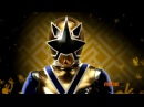 Power Rangers Samurai - Gold Ranger First Morph.