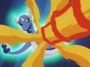 Pokemon Ash's Charizard & Clair's Dragonair Vs Wild Dragonite Battle.